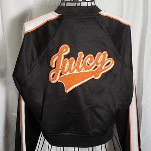 Juicy Couture Juicy Logo Patch Tricot Jacket